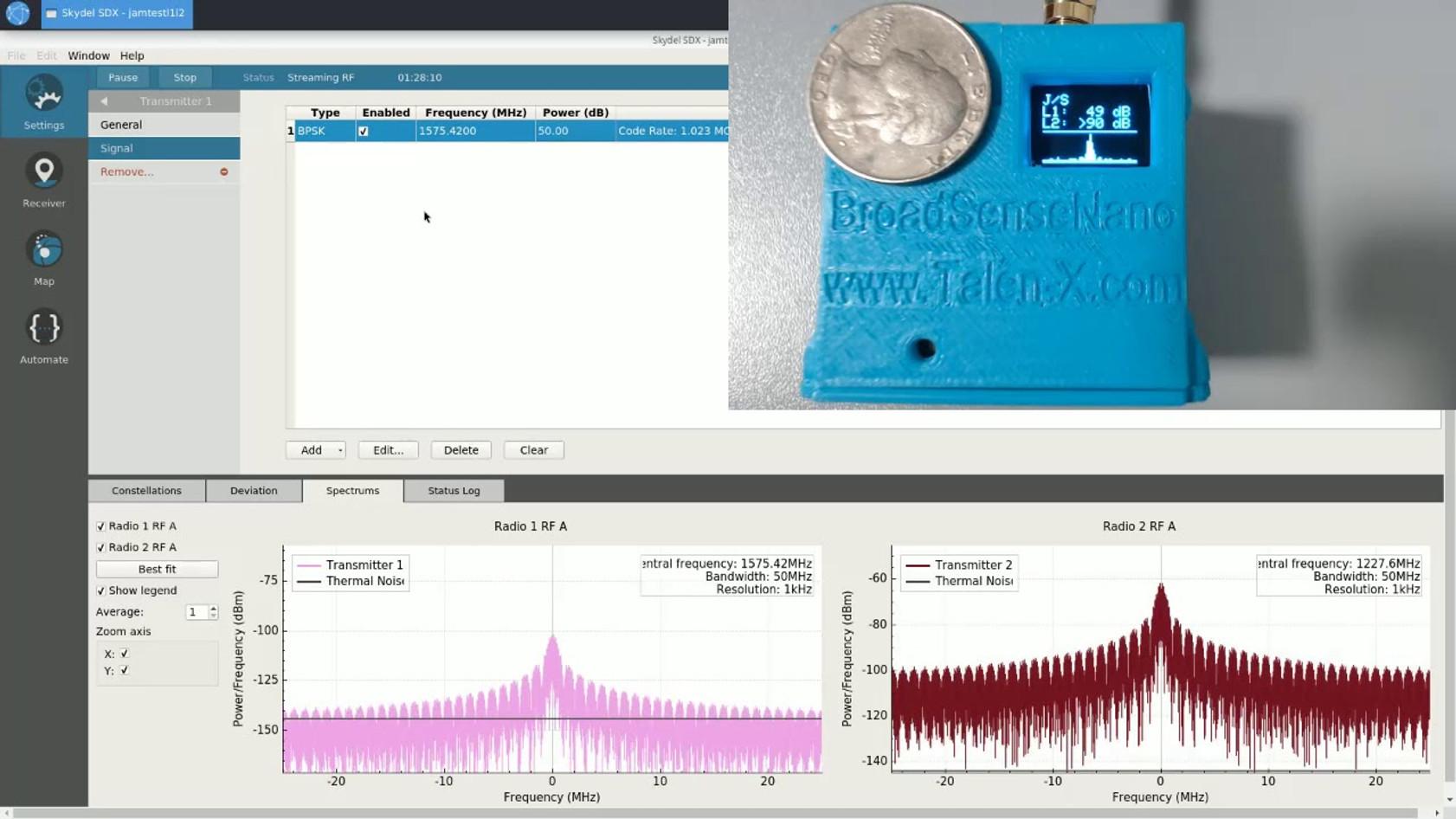 Talen-X Premiers BroadSense Nano Prototype on Its New Youtube Channel