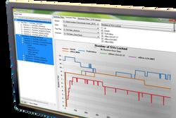 Monitor close crop-Scenario Plot screen image