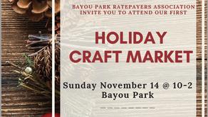 BPRA Holiday Craft Market