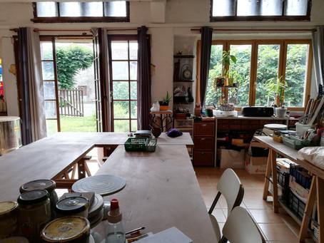 """""""l'Interreval"""" Mon nouvel atelier à Valcabrére"""