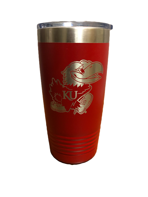 FIJI Tumbler - TWO COLOR CHOICES (RED AND BLUE)