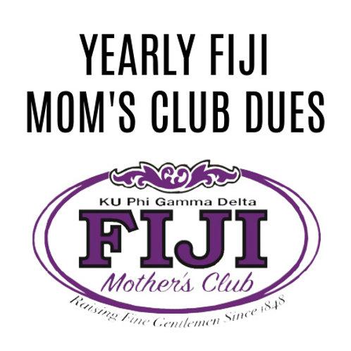 Yearly Fiji Mom's Club Dues