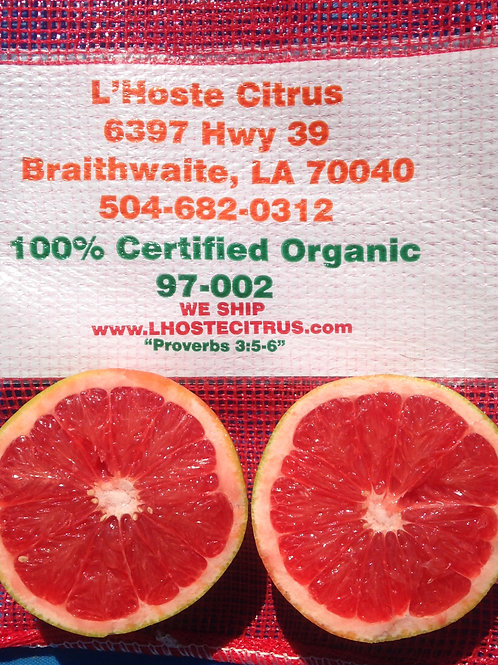 Organic L'Hoste Purple Grapefruit