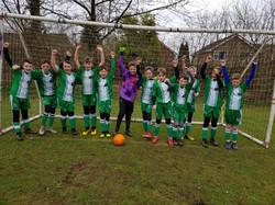 Alderbury U11  cheering