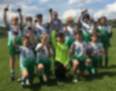 U12s win Testway Div 1 and Plate Cup