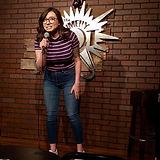 Stand up comedy teacher Savannah Hernandez