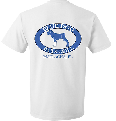 Blue Dog Logo Shirt