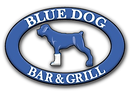 Blue Dog Logo Home