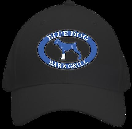 Blue Dog Hat - Black