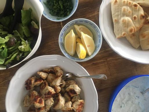 Oh-so-easy Mediterranean chicken