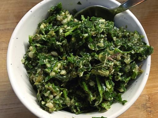 Salsa Verde - a verde verde good sauce