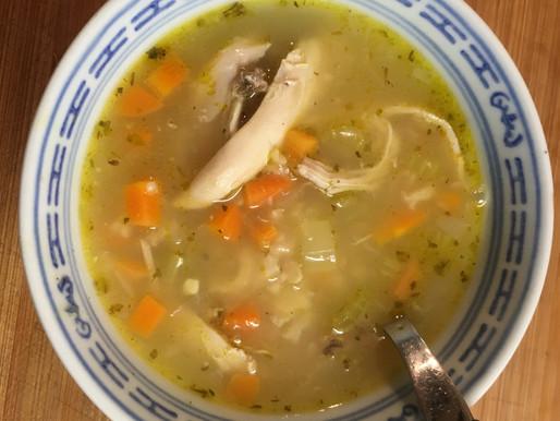 Madar Bozorg's Chicken Soup