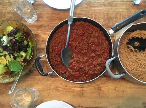 Good old spaghetti bolognaise