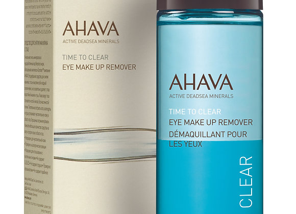 Time To Clear: Eye Make-up Remover
