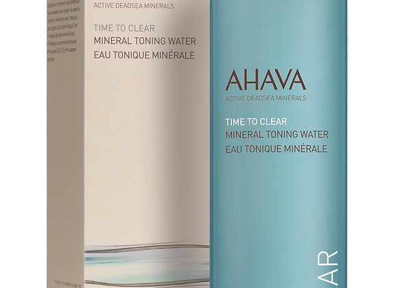 Time To Clear: Mineral Toning Water