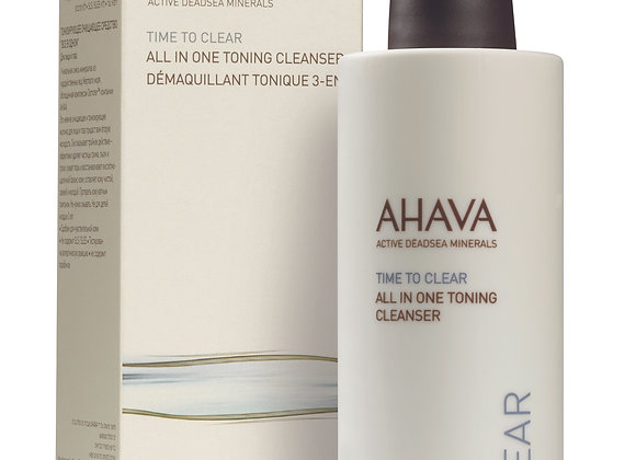 Time To Clear: All-in-one Toning Cleanser