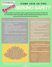Spring Special Seeking Safety Group Flye