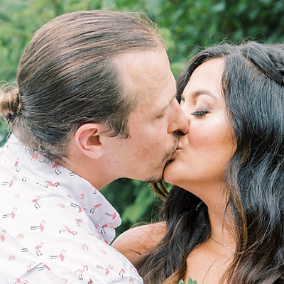 J & A Tropical Wedding