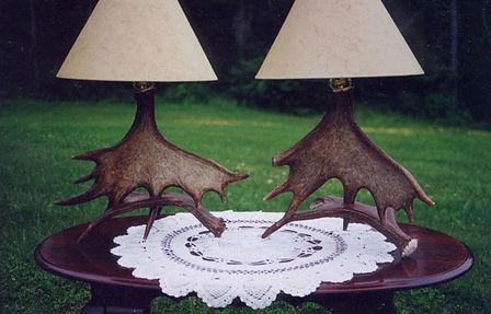 Antler Lamps