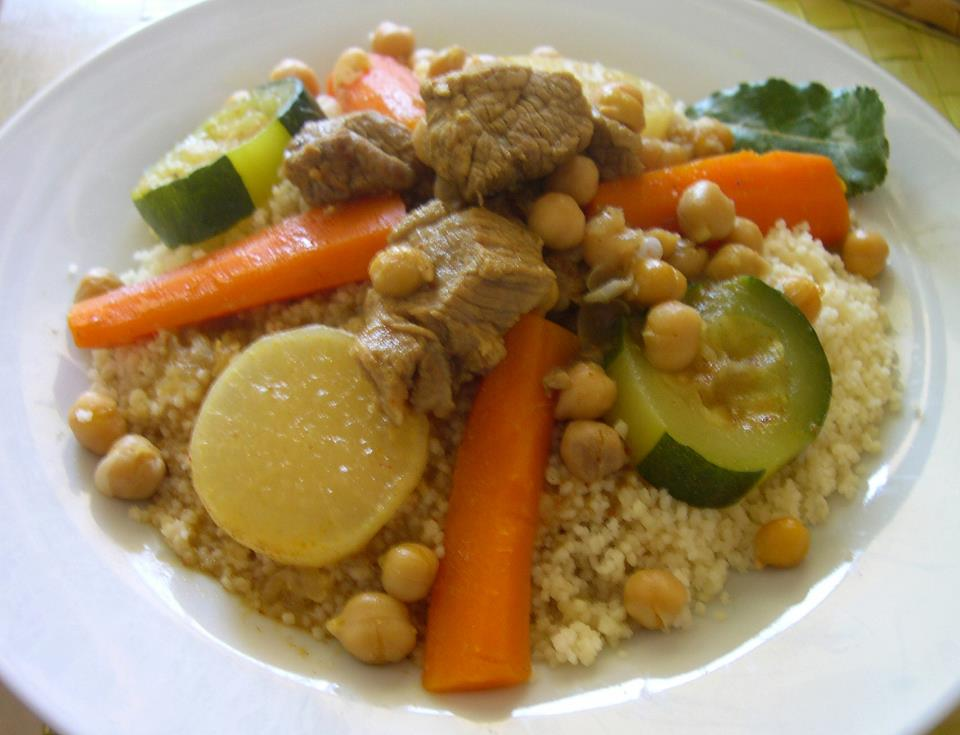 Couscous light au veau