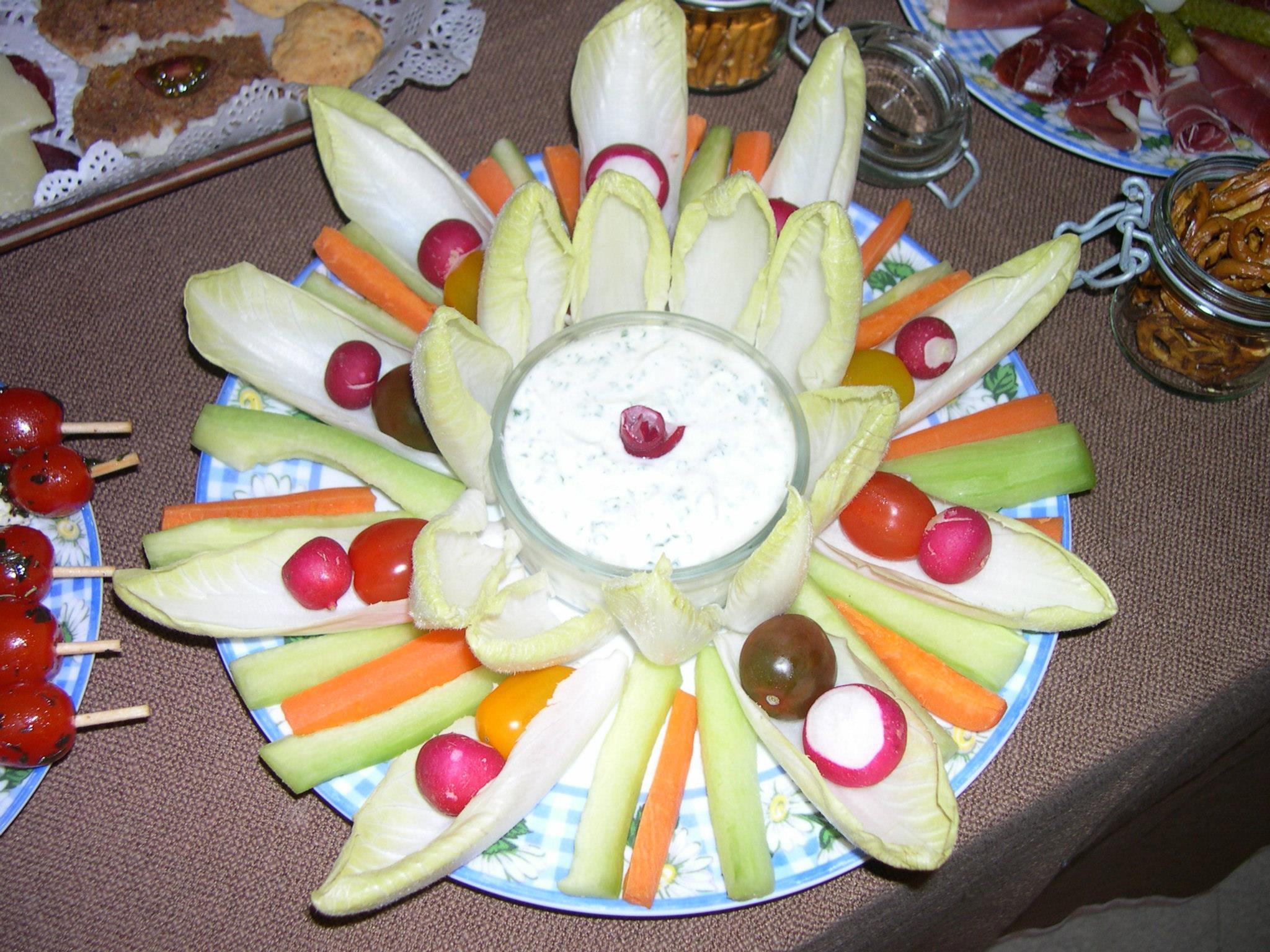 Pickles légumes fromage frais
