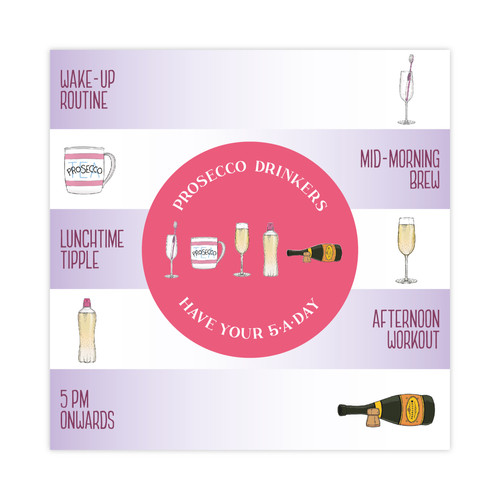 Thinkls drinkls drinkls greetings cards prosecco greetings card m4hsunfo