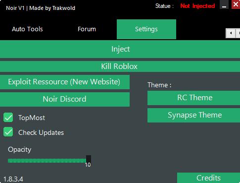 NoirV1 | Roblox Exploit | Exploit Ressource