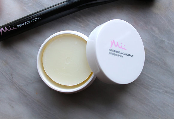 Cleanse and condition brush balm