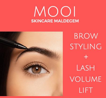 Cadeaubon Lash volume lift  + brow styling