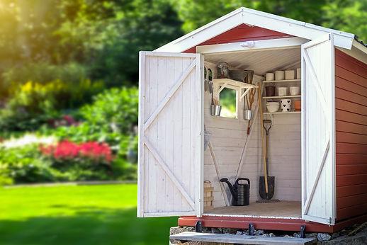 shed-organization-Storage-shed-filled-wi