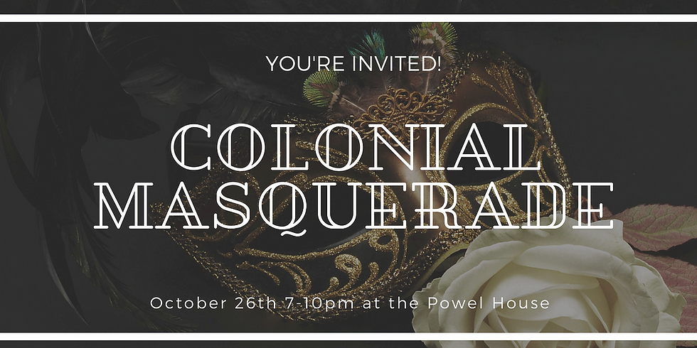 Colonial Masquerade Party with Home Brewed Events