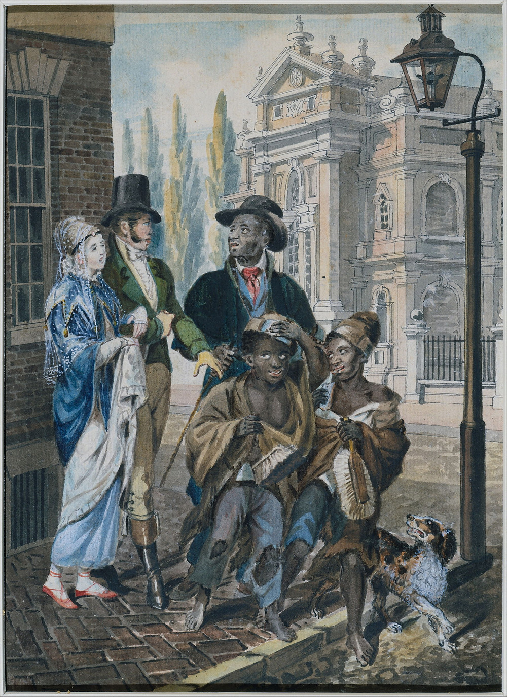 """""""Worldly Folk"""" Questioning Chimney Sweeps and Their Master before Christ Church Philadelphia"""