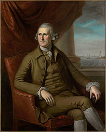 Portrait of Thomas Willing by Charles Willson Peale