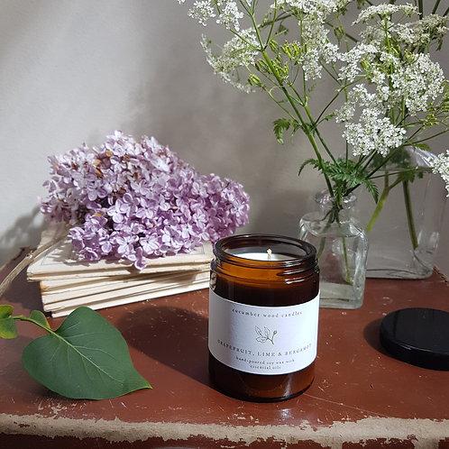 Amber jar candle - 60g / 120g / 180g