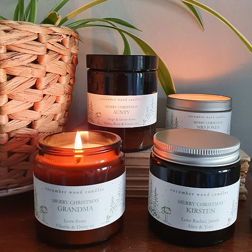 Personalised Candles - limited edition!
