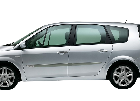 Aislantes térmicos 9 capas Renault Grand Scenic 2003-2009
