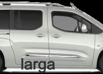 Aislante térmico 9 capas Toyota ProAcer City Verso  LARGA