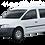 Thumbnail: Aislantes térmicos 9 capas Volkswagen Caddy 2004-2010