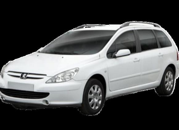 Aislantes térmicos 9 capas Peugeot 307sw.(familiar)  2001-2014