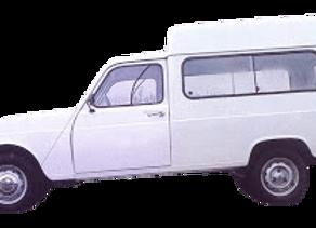 Aislantes térmicos 9 capas  Renault 4L