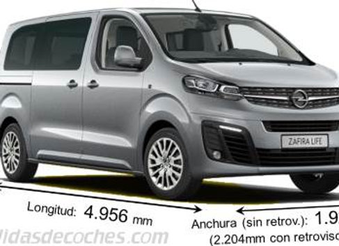 Aislante térmico 9 capas Opel Zafira Life 2019 MEDIUM