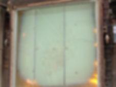 Vidro corta fogo - vidro a prova de fogo