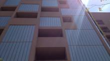Profilit é destaque em fachada de edifício residencial na Vila Madalena em São Paulo.