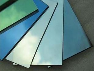 Fabricação de vidros laminados especiais.