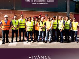 Equipe da Vidrosistemas em visita a fábrica!  Obrigado Vivânce!