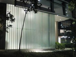 Obra Teoemp inspira novas formas de aplicação do vidro