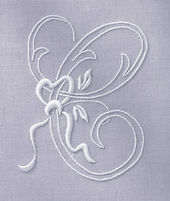 Embroidery Kit -  Handkerchief - French