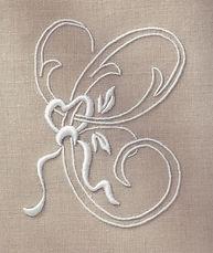 Embroidery Kit -  Natural Towels - Paris