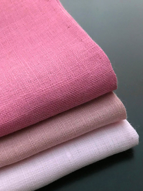 In the Pink Collection - Lt Weight Irish Linen