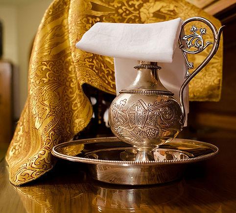 Handmade Linens for the Altar